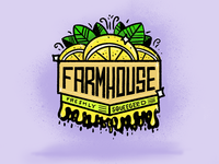 FarmHouse Apparel Freshly Squeegeed Design