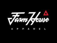 FarmHouse Apparel Script Logo