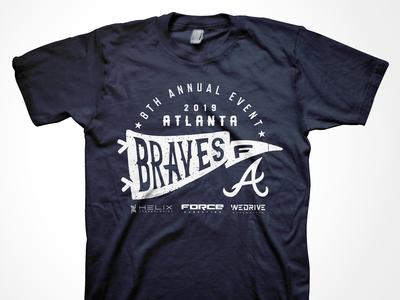 Force Marketing Braves Event T-shirt 2