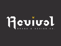 Revival Brand & Design Co. Old English-ish