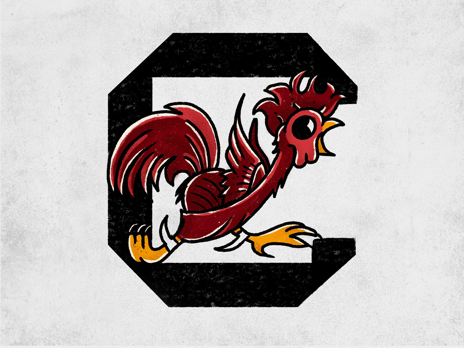 Sailor Jerry Gamecock Logo by Brandt
