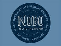 NOBO Beer Sticker