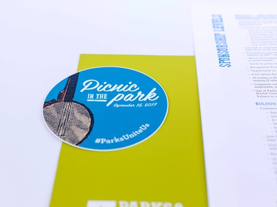Picnic in the Park Sponsorship Packet