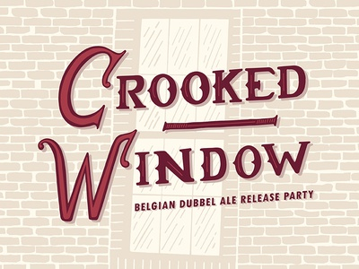 Crooked Window Label