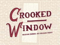 Crooked Window Label