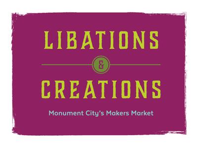 Libations & Creations Logo