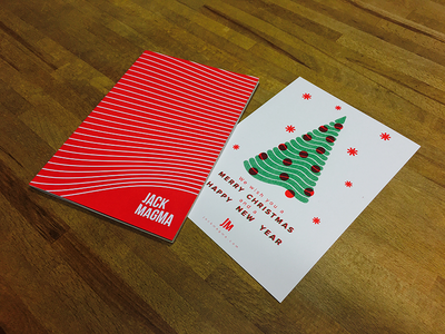 Christmas gifts 🎁 gift present risograph tree notebook card christmas
