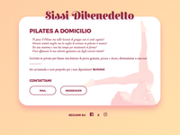 Pilates Personal Website
