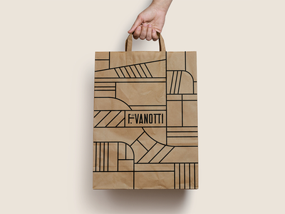 Shopping bag shopping bag overview lines field agriculture farm brand mockup pattern