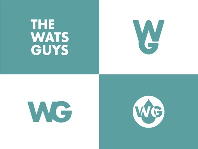 The Wats Guys - Rejects typography simple vector design kreslet sketch illustration minimal logo branding