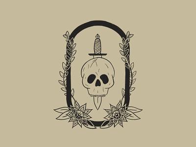 Negative Space procreate minimal design kreslet simple illustration tongue line art skulls teeth diamond leaves vines traditional flowers dagger sketch skull art skull illustration skull