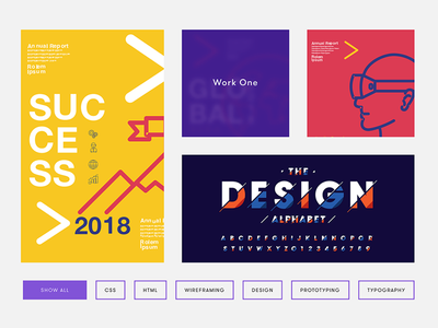 Graphic Designer Portfolio designs, themes, templates and ...
