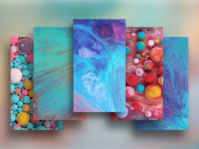 Memories of Paintings  iphone paint painting bubbles free wallpaper colors