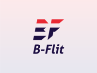 B - Flit Logo Design