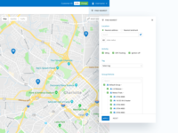 Filter for Live Vehicle Tracking