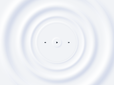Music Player waves soft music player music vector white clean design ui