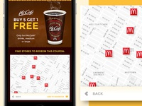 McCoupons App - Locations