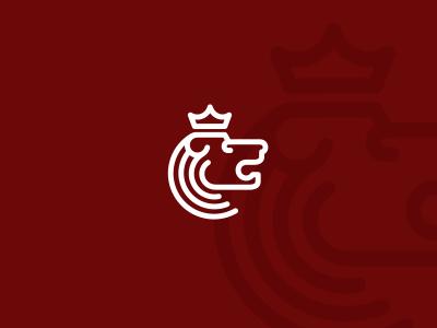 Lion Head Logo Design lion head crown utopia creative logo design logo design logo designer logotype brand branding identity branding agency agency studio dalius stuoka alex tass lions