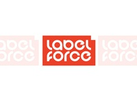 Labelforce printing company logo design