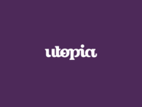 Utopia Alternate Logo Design