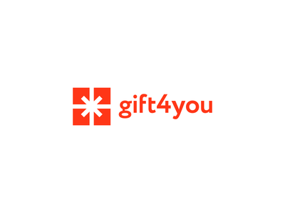Logo Design Concept for an Online Gift Shop logo icon identity design mark branding brand logotype gift shop store online present packaging ribbon christmas birthday utopia agency you minimalistic gifts presents bow logo mark offering surprise box wrap logo design