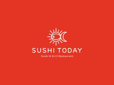 Sushi Today Logo Design Concept 3