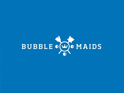 Bubble Maids Logo Design
