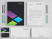 Leadmotion identity / stationery design