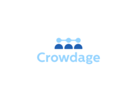 Crowdage™ Identity Design for Biotechnology and Medical Project