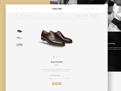 John Lobb - Product Page