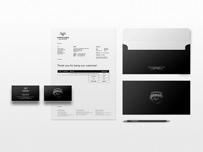 Wheels Shop branding wheels mark emblem card envelope badge logo identity letter luxury stationery