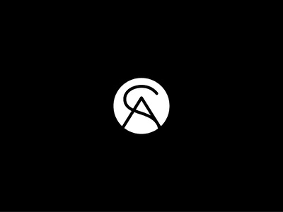 SA monogram mark logo monogram a s