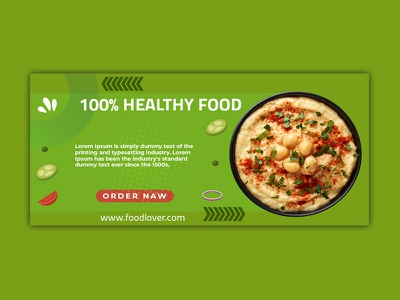 Food Banner design web banner web restaurant google ads google food banner facebook cover facebook ads facebook banners banner pack adwords