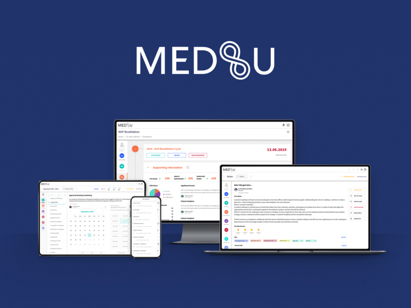 Med Tech SaaS Application market research user research usability testing web design ui design ux  ui ux research ux design project managment product management product design