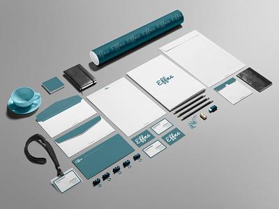 Effne Brand Identity stationary logo marketing branding brand identity