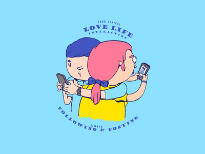 Texting lovers social networks lovers love texting