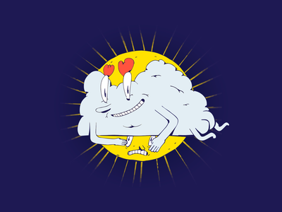 Asshole cloud supremeninja ass sunlight sun dessin stupid illustration cloud