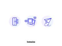Instasize Website Icons