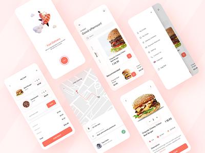 Food Delivery App ux ui ui ux design ux design ui design restaurant app food app food delivery app