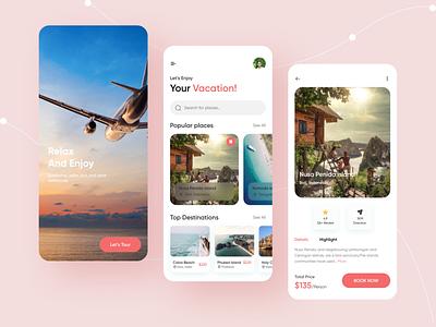 Travel Service App travel service app design ux ui ios app mobile app travel app travel service app