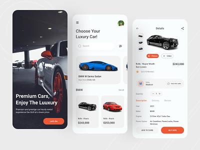 Car Shop App ui car booking app car store mobile app airgarage mobile app luxury car rental app concept car call seinfeld car warranty app car rental app premium car rental app car marketplace app e- commerce app car shop app 🏎️