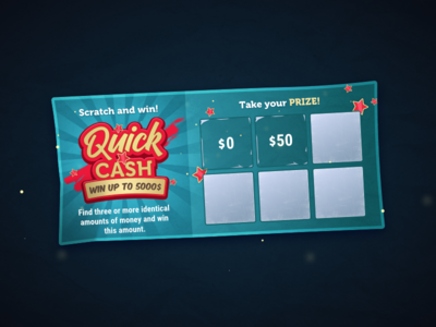 Skratch lottery ticket 💸