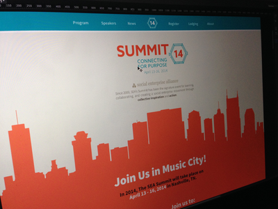 Summit 14 Conference Website