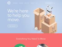 Mesa Website Homepage