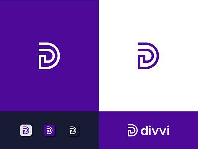 Divvi logo designer modern logo logo designs d letter logo d d mark d logo d monogram monogram design monogram logodesign logo mark logo design letter logo logos picox logo lettermark only1mehedi branding