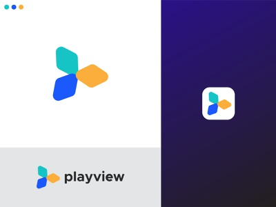 Playview Logo Design app logo designer logo mark design app logo modern logo onlymehedi playview logo creator logo designer logo maker logo marks logo mark logodesign logotype logo design logos lettermark picox logo only1mehedi branding