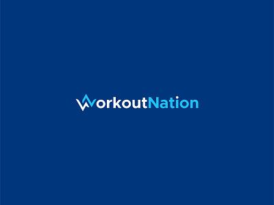 WorkoutNation Logo Design wn logo w logo monogram brand mark illustration logo maker letter mark wordmark gym logo fitness logo onlymehedi design logo designer logo mark lettermark logo design picox logo only1mehedi branding