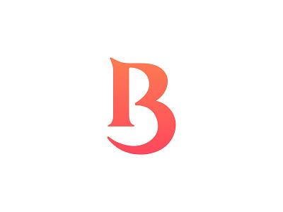 B Monogram web design logo design ecommerce a b c d e f g h i j k l m n o l a z y d o g j u m p e d o v e r t h e q u i c k b r o w n f o x creative symbol appicon app startup logotype logodesign icons logo icon design brand branding