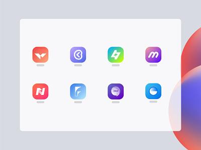 Modern App Logo Design - App Icon Design sale logo folio logo creator logo maker logo designer v logo icon mark ecommerce app modern logo illustration design logo mark lettermark picox logo design logo only1mehedi branding