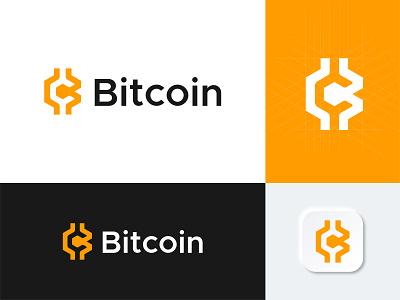 Logo Redesign - Bitcoin symbol logo redesign finance cryptocurrency btc bitcoins icon redesign tech modern logo app coin ecommerce crypto bitcoin lettermark logo design logo only1mehedi branding